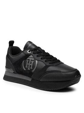 Tommy Hilfiger Tommy Hilfiger Sportcipő Feminine Active City Sneaker FW0FW05928 Fekete