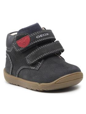 Geox Geox Зимни обувки B Macchia B. C B164NC 03285 C4002 Тъмносин