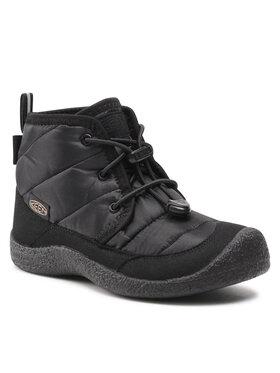 Keen Keen Turistiniai batai Howser II Chukka Wp 1025513 Juoda