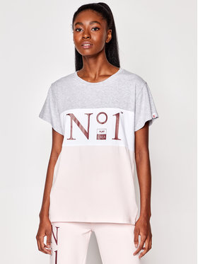 PLNY LALA PLNY LALA T-shirt No.1 PL-KO-CL-00206 Multicolore Classic Fit