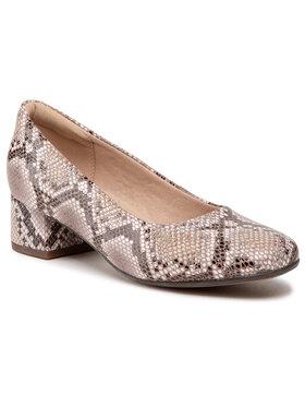 Clarks Clarks Обувки Marilyn Leah 261575864 Кафяв