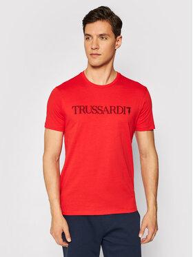 Trussardi Trussardi T-shirt 52T00503 Rosso Regular Fit