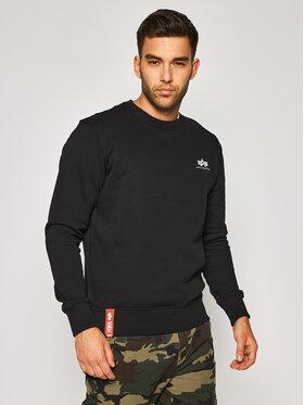 Alpha Industries Alpha Industries Sweatshirt Basic 188307 Noir Regular Fit