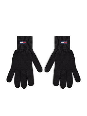 Tommy Jeans Tommy Jeans Γάντια Γυναικεία Tjw Ess Flag Glove AW0AW10704 Μαύρο