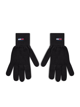 Tommy Jeans Tommy Jeans Rękawiczki Damskie Tjw Ess Flag Glove AW0AW10704 Czarny