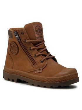 Palladium Palladium Ορειβατικά παπούτσια Pampa Hi Cuff Wp 53476-257-M Καφέ