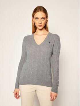 Polo Ralph Lauren Polo Ralph Lauren Pulover Kimberly Wool/Cashmere 211508656016 Gri Regular Fit