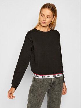 MOSCHINO Underwear & Swim MOSCHINO Underwear & Swim Bluza 17 019 006 Czarny Regular Fit
