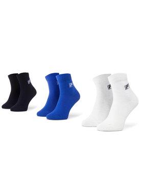 Fila Fila Set di 3 paia di calzini lunghi da bambini Barcode F1392D Multicolore