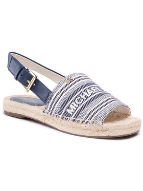 MICHAEL Michael Kors MICHAEL Michael Kors Espadrilės Fisher Espadrille 40S1FIFP1Y Tamsiai mėlyna