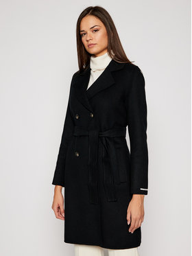 Marella Marella Trench-coat Teiera 30160708 Noir Regular Fit