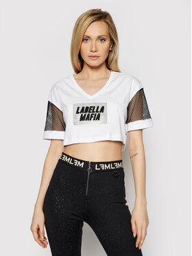 LaBellaMafia LaBellaMafia Majica 21388 Bijela Regular Fit