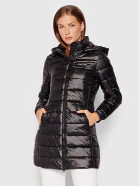 Calvin Klein Calvin Klein Kurtka puchowa Essential Sorona K20K203099 Czarny Slim Fit