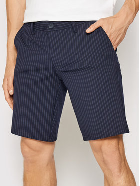 Only & Sons ONLY & SONS Stoffshorts Mark 22019628 Dunkelblau Slim Fit