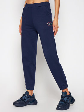 Pepe Jeans Pepe Jeans Pantaloni da tuta Chantal PL211455 Blu scuro Regular Fit