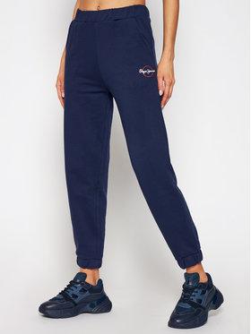 Pepe Jeans Pepe Jeans Teplákové kalhoty Chantal PL211455 Tmavomodrá Regular Fit