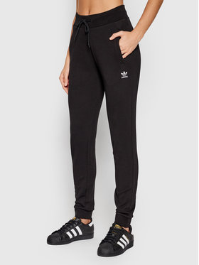 adidas adidas Pantaloni trening adicolor Essentials H37878 Negru Slim Fit