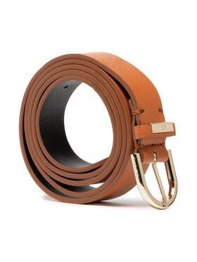 Calvin Klein Calvin Klein Cintura da donna Round Belt 25Mm Saffiano K60K608297 Marrone
