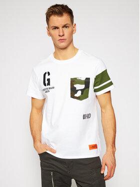 Guess Guess T-Shirt M1RI90 KAG00 Biały Regular Fit