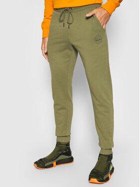 Jack&Jones Jack&Jones Teplákové nohavice Gordon Shark 12165322 Zelená Regular Fit