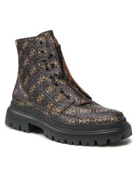 Guess Guess Outdoorová obuv FMTES8 FAL11 Čierna