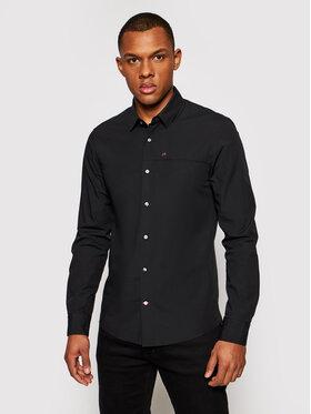 Calvin Klein Calvin Klein Риза K10K107021 Черен Slim Fit