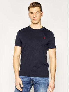 Polo Ralph Lauren Polo Ralph Lauren T-Shirt Bsr 710680785 Dunkelblau Custom Slim Fit