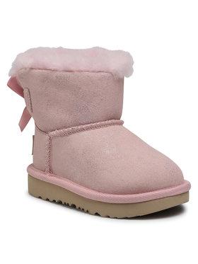 Ugg Ugg Pantofi T Mini Bailey Bow II Shimmer 1116173T Roz