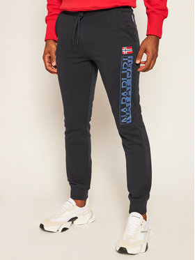 Napapijri Napapijri Teplákové kalhoty M-Ice NP0A4EHW1 Tmavomodrá Regular Fit
