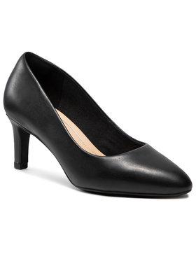 Clarks Clarks Обувки на ток Calla Rose 261360405 Черен
