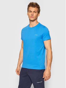 Calvin Klein Jeans Calvin Klein Jeans 2er-Set T-Shirts J30J315194 Blau Slim Fit