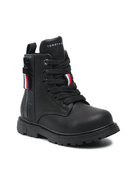 Tommy Hilfiger Tommy Hilfiger Μπότες Lace-Up Bootie T1A5-31188-0289 M Μαύρο