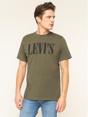 Levi's® Levi's® T-Shirt 69978-0028 Zelená Relaxed Fit
