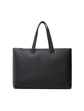 Tommy Hilfiger Tommy Hilfiger Táska Th Element Tote AW0AW10454 Fekete