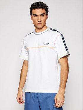 adidas adidas T-shirt Contrast Stitch GN3885 Bianco Regular Fit