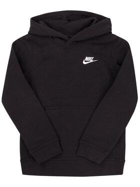 NIKE NIKE Bluză Sportswear Club BV3757 Negru Regular Fit