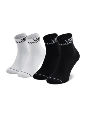 Vans Vans Комплект 2 чифта дълги чорапи дамски 2 Pack Peek VN0A4Q64Y281001 r. OS Бял