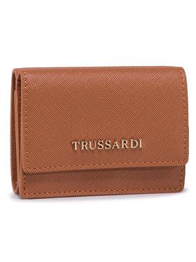 Trussardi Jeans Trussardi Jeans Kis női pénztárca Mosca Trfold Sm 75W00258 Fekete