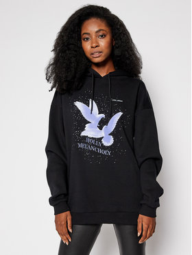 Local Heroes Local Heroes Bluza Holly Melancholy Hoodie AW2021S0007 Czarny Regular Fit