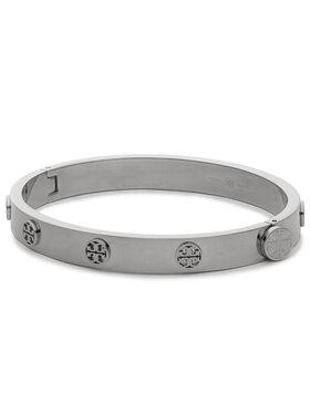 Tory Burch Tory Burch Narukvica Miller Stud Hinge Bracelet 78420 Srebrna