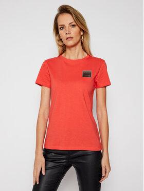 Armani Exchange Armani Exchange Marškinėliai 3KYTKA YJW3Z 1663 Raudona Regular Fit