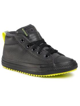 Converse Converse Сникърси Ctas Street Boot Md 669328C Черен