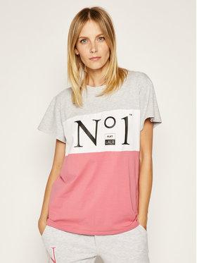 PLNY LALA PLNY LALA T-shirt NO.1 Classic 00172 Multicolore Classic Fit