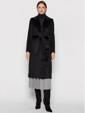 MAX&Co. MAX&Co. Зимно палто Runaway 40149721 Черен Regular Fit