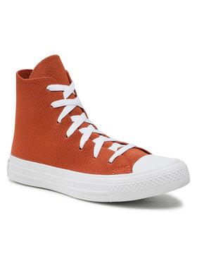 Converse Converse Sneakers aus Stoff Ctas Hi 170871C Braun