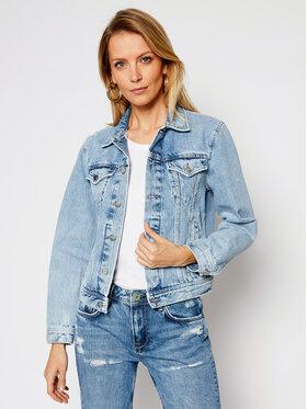 Pepe Jeans Pepe Jeans Džinsinė striukė ARCHIVE Rose PL401829 Mėlyna Regular Fit