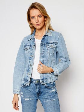 Pepe Jeans Pepe Jeans Kurtka jeansowa ARCHIVE Rose PL401829 Niebieski Regular Fit