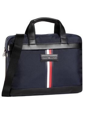 Tommy Hilfiger Tommy Hilfiger Nešiojamo kompiuterio krepšys Uptown Nylon Computer Bag AM0AM06245 Tamsiai mėlyna