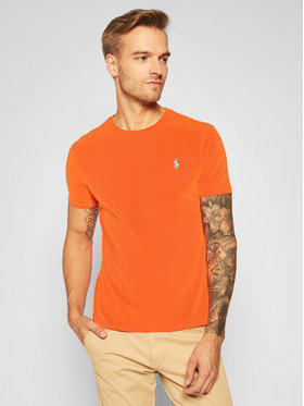 Polo Ralph Lauren Polo Ralph Lauren T-shirt Classics 710671438161 Orange Slim Fit