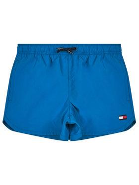 TOMMY HILFIGER TOMMY HILFIGER Szorty kąpielowe Runner UB0UB00181 Niebieski Regular Fit